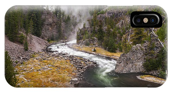 Yellowstone National Park iPhone Case - Firehole Canyon - Yellowstone by Brian Harig