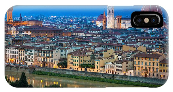 Firenze By Night IPhone Case