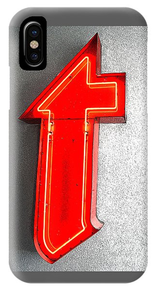 Firestone Building Red Neon T IPhone Case