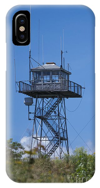 Firetower - Mt  Agamenticus - Maine IPhone Case
