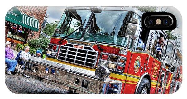 Firetruck IPhone Case