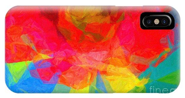 Firewheel - Gaillardia Pulchella IPhone Case