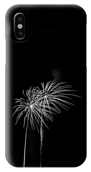 Firework Palm Trees IPhone Case
