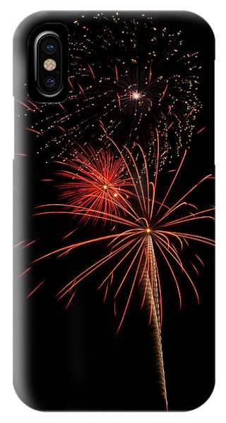 Fireworks 3 IPhone Case