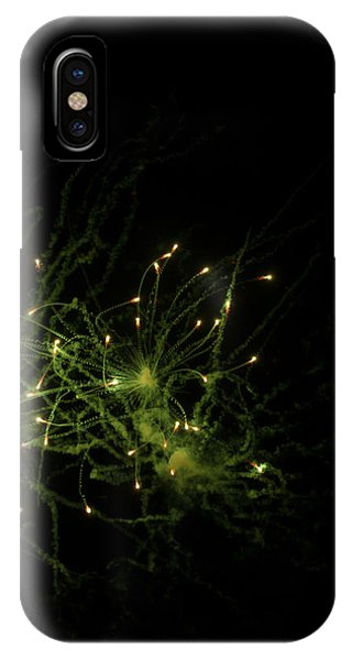 4th July iPhone Case - Fireworks Abstract by Modern Art Prints