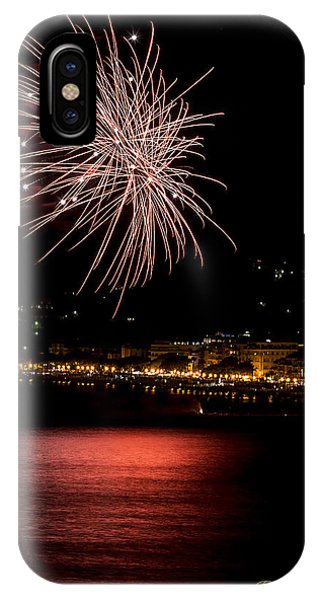 IPhone Case featuring the photograph Fireworks Alassio 2013 3541 - Ph Enrico Pelos by Enrico Pelos