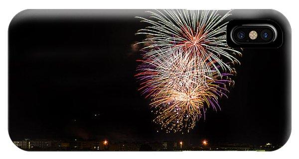 Fireworks Albenga 2013 3808 - Ph Enrico Pelos IPhone Case