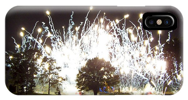 Fireworks At Epcot 2 IPhone Case