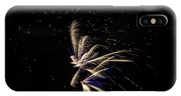 Fireworks - Dragonflies In The Stars IPhone Case