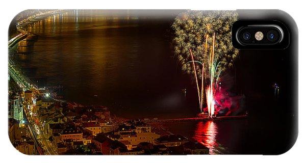 Fireworks Laigueglia 2013 3178 - Ph Enrico Pelos IPhone Case