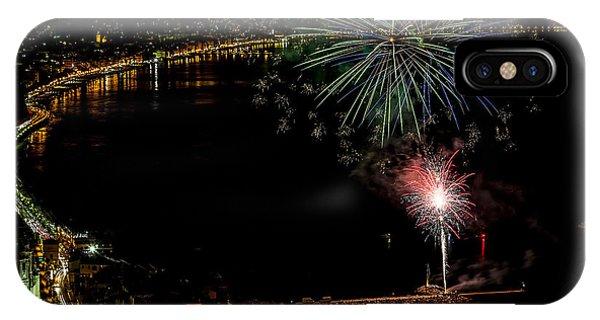 Fireworks Laigueglia 2013 3182 - Ph Enrico Pelos IPhone Case