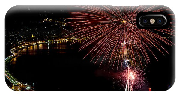Fireworks Laigueglia 2013 3184 - Ph Enrico Pelos IPhone Case