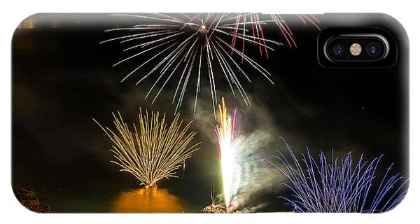 Fireworks Laigueglia 2013 3192q - Ph Enrico Pelos IPhone Case