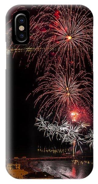 Fireworks Laigueglia 2013 3196 - Ph Enrico Pelos IPhone Case