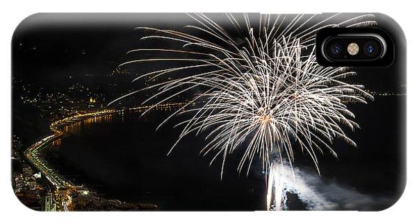 Fireworks Laigueglia 2013 3206 - Ph Enrico Pelos IPhone Case