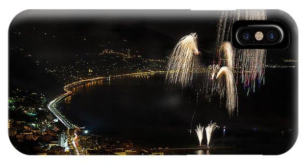 Fireworks Laigueglia 2013 3213 - Ph Enrico Pelos IPhone Case