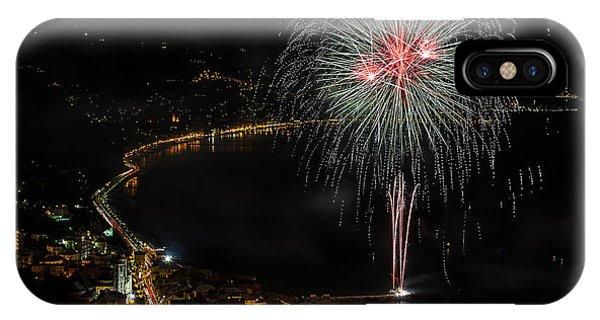 Fireworks Laigueglia 2013 3217 - Ph Enrico Pelos IPhone Case
