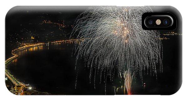 Fireworks Laigueglia 2013 3221 - Ph Enrico Pelos IPhone Case