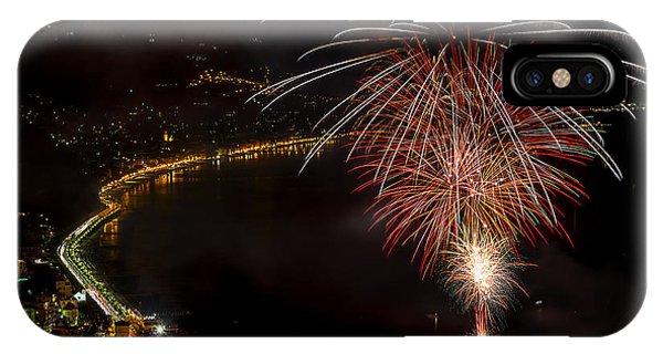 Fireworks Laigueglia 2013 3239 - Ph Enrico Pelos IPhone Case