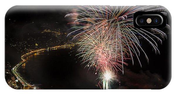 Fireworks Laigueglia 2013 3242 - Ph Enrico Pelos IPhone Case