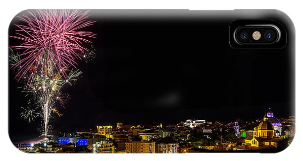 Fireworks Loano 2013 3353 - Ph Enrico Pelos IPhone Case
