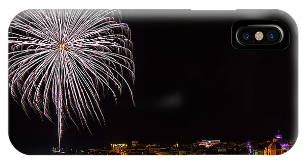Fireworks Loano 2013 3394 - Ph Enrico Pelos IPhone Case