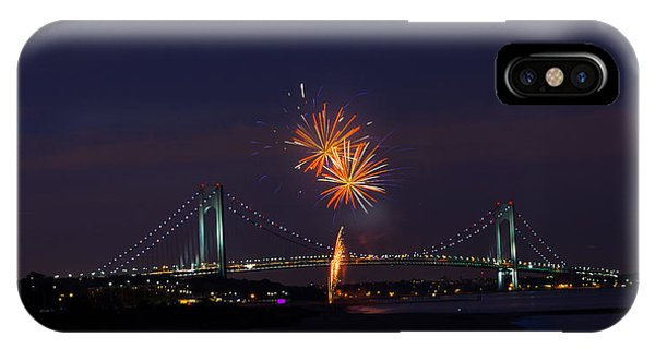 Fireworks On Staten Island South Beach IPhone Case
