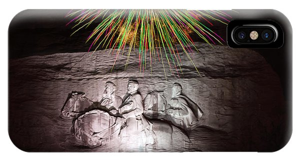 Fireworks Over Stone Mountain IPhone Case
