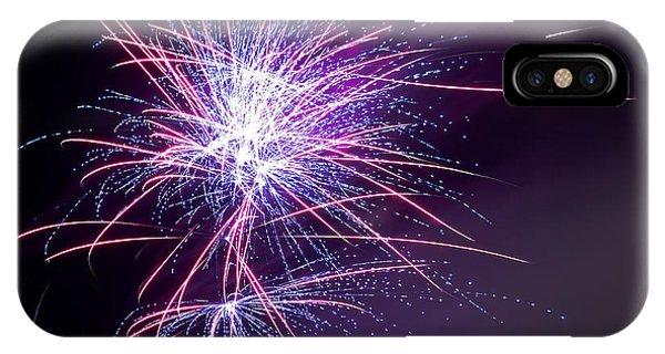 Fireworks - Purple Haze IPhone Case