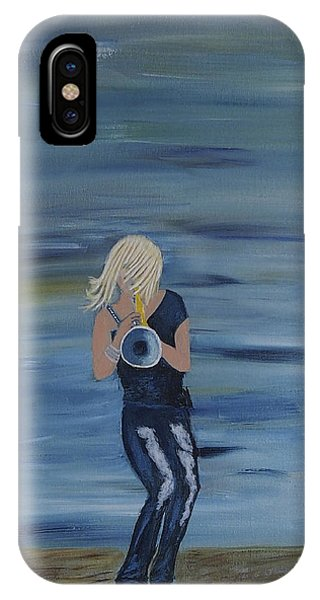 Firmly Grounded - Cindy Bradley IPhone Case