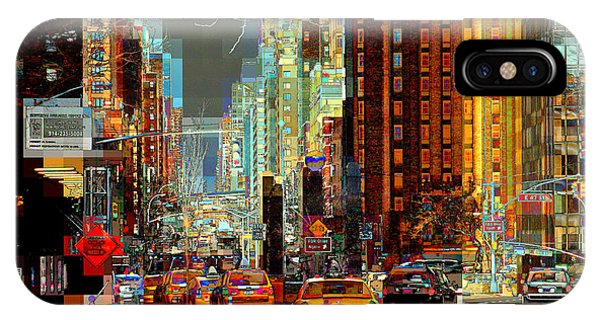 First Avenue - New York Ny IPhone Case