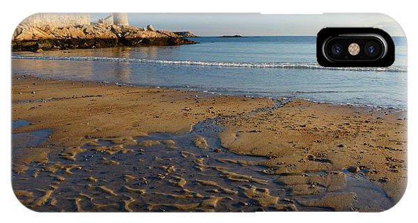 First Beach Sunrise In Rockport IPhone Case