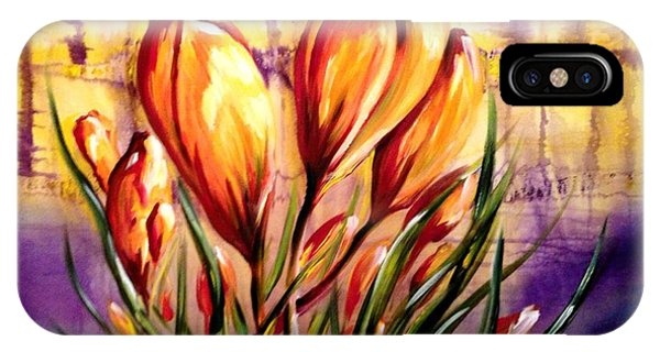 First Blooms Of Spring IPhone Case