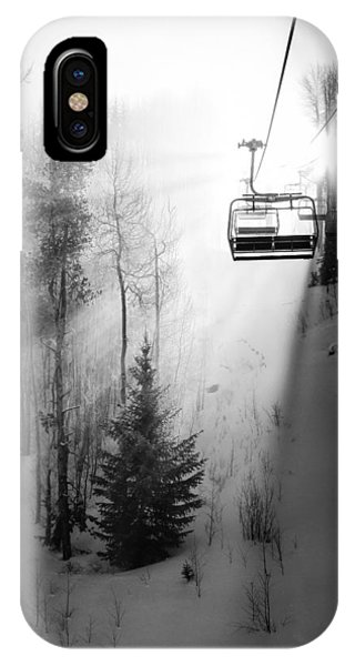 Winter iPhone Case - First Chair by Sean McClay