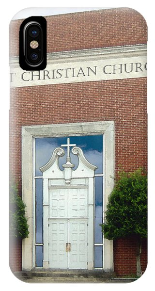 First Christian Church IPhone Case