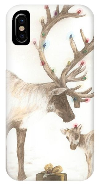 First Christmas IPhone Case