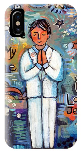 My Son iPhone Case - First Communion Boy by Jen Norton