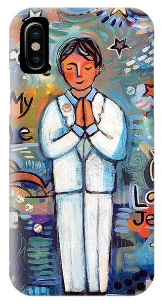 First Communion Boy IPhone Case