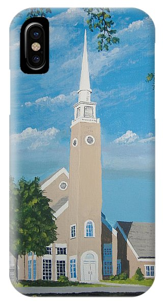 First Congregational Church IPhone Case
