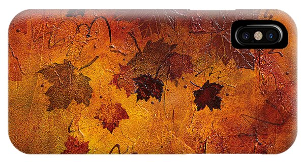 iPhone Case - First Dance Of Fall by Julie Acquaviva Hayes