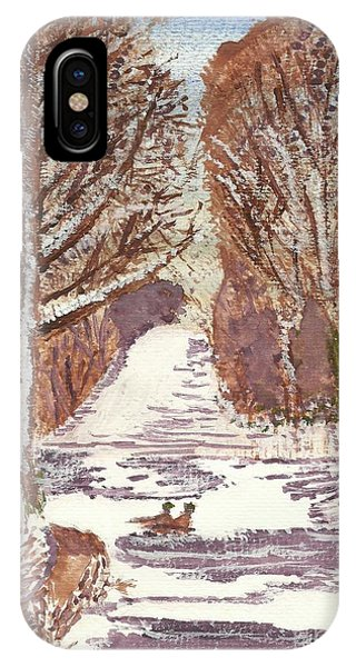 First Footprints IPhone Case