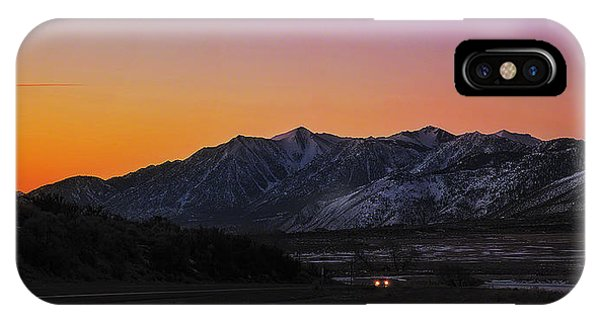 iPhone Case - First Light by Nancy Marie Ricketts