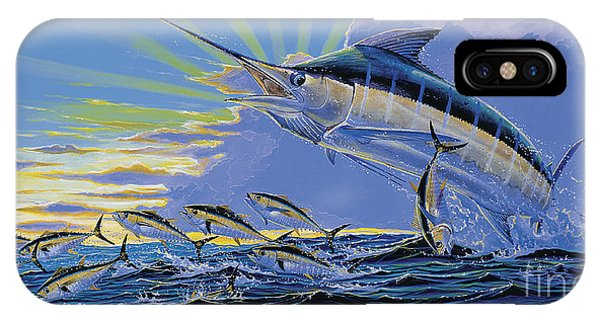 Skipjack iPhone Case - First Light Off00101 by Carey Chen