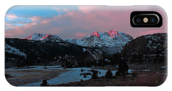 First Light On Carson IPhone Case