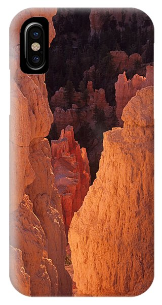 First Light On Hoodoos IPhone Case