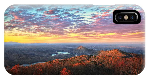 First Light Over The Ocoee River IPhone Case