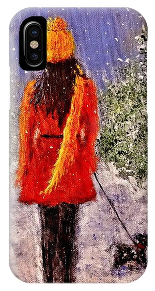 First Snow.. IPhone Case