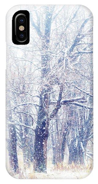 First Snow. Dreamy Wonderland IPhone Case