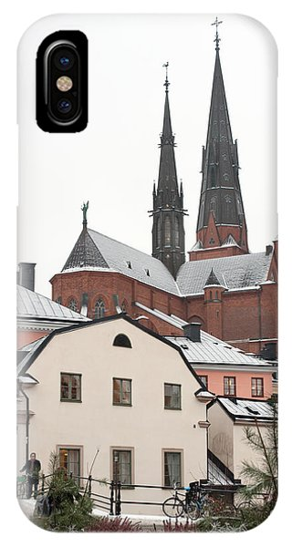 First Snow Phone Case by Torbjorn Swenelius