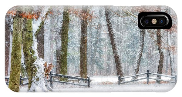 First Snow-winter Wonderland IPhone Case